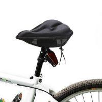 Gel Bike Seat Cover - Black