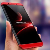 GKK Oppo A83 360 Full Protection Case - Red