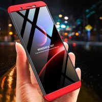 GKK Vivo Y71 360 Full Protection Case - Red