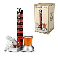 Hammer Shot Drinking Game - Silver