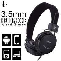 JKR-101 3.5mm Wired Stereo Headphone - Black