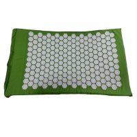 Pain Relief Acupuncture Massage Mat Cushion - Green