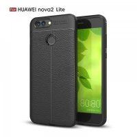 Huawei Nova 2 Lite Autofocus Silicone Back Cover Case - Black