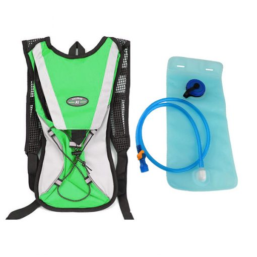 Hydration Water Bladder Sports Backpack For Hiking Climbing - Green
