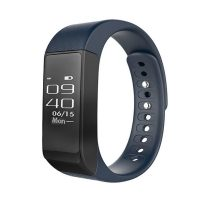 I5 Plus Smart Bluetooth Detachable Fitness Watch - Blue