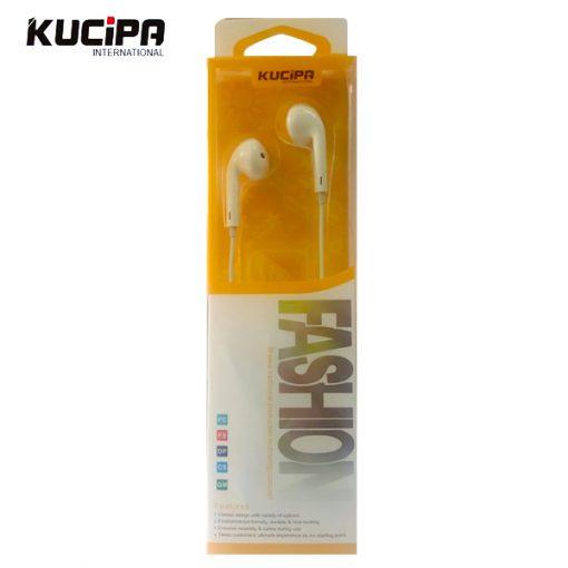 Kucipa Yoobo Fashion Earphone - White