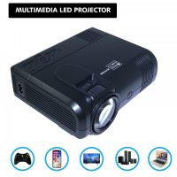 L8 Multimedia LED Projector - Black