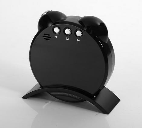 LED Alarm Clock With Full HD  Digital Video Recorder