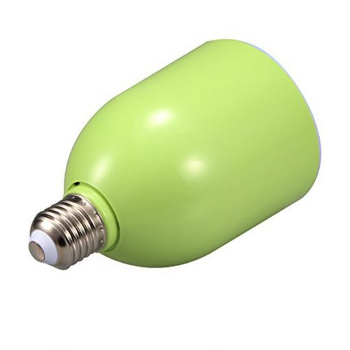 300 Lumens LED  Bulb With Bluetooth Speaker - Green