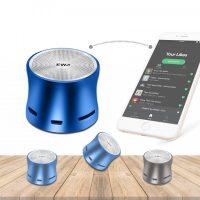 EWA Mini Bluetooth Exposed Speaker - Blue