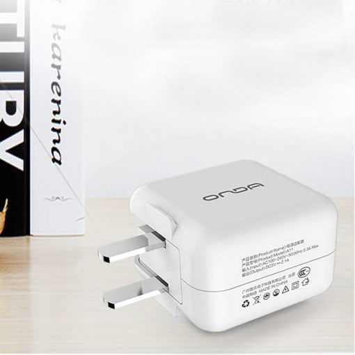 Onda A11 Foldable Fast Charger With Micro USB Cable - White