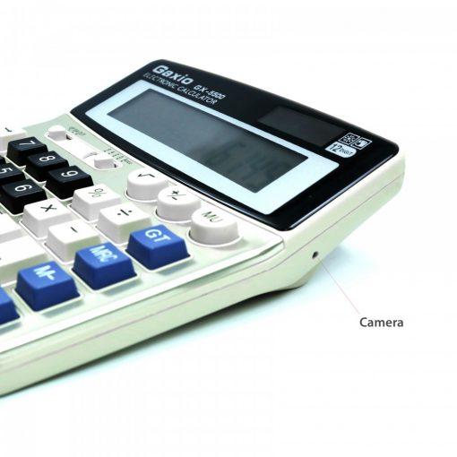 Gaxio Calculator With HD Spy Camera And Internal 4GB Memory - White