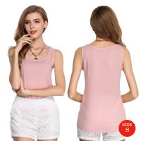 Liva Girl Casual Candy Sleeveless Blouse Small - Pink
