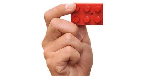 Block Type Mini Camera - Red