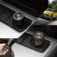 Car Rechargeable LED Flashlight - Black