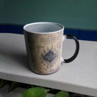 Harry Potter Marauder Map Heat Sensitive Mug