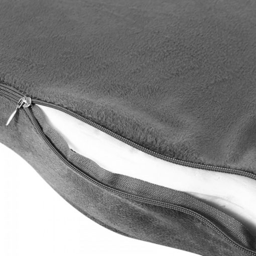 Memory Foam Orthopedic Seat Cushion - Grey