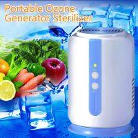 Cabinet Refrigerator Air Freshener Purifier - White