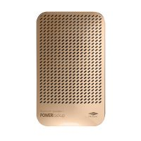 Bluetooth Speaker With 5000mAh Powerbank - Gold