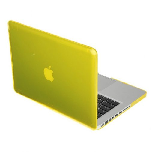 Macbook Pro 13.3 Plastic Crystal Case - Yellow