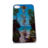 Madagascar 3D Protective case for Iphone 4/4s - White
