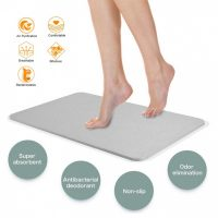 Magic Diatomaceous Earth Bath Mat - Gray