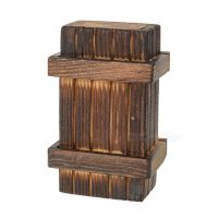 Magic Wooden Box with Secret Drawer - Brown