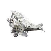 Metallic Nano Puzzle - Fokker D-VII - Silver