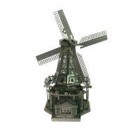 Metallic Nano Puzzle - Windmill