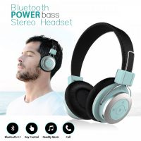 Mezone Bluetooth Stereo Headset with Mic - Blue