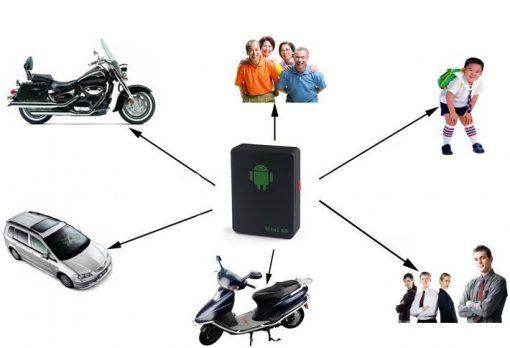 Mini GSM/GPRS/GPS Locator - Black