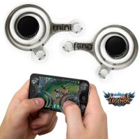 Mini Joysticks Game Analog Controller - Black