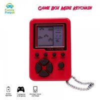 Game Box Mini Brick Game Keychain 26 in 1  -  Red