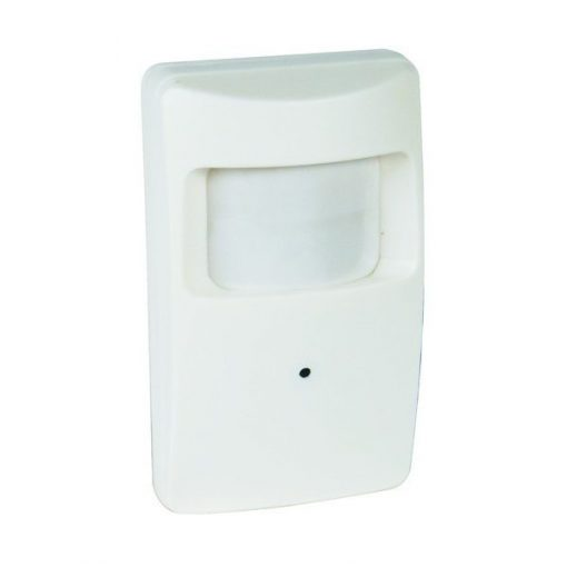 Motion Detector With Hidden Wifi Camera - White