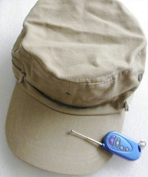 MultiFunction Cap With Video Recorder - Brown