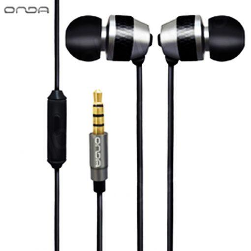 ONDA AD30 High-Fidelity Fashion Earphone - Black