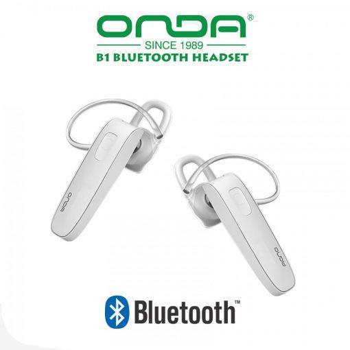 ONDA B1 In-Ear Bluetooth Headset - White