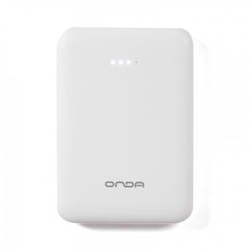 Onda S3 5000 mAh Ultra Lightweight Mini Powerbank - White