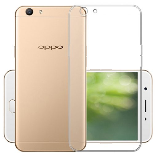 Protective Cover Back Shell for Oppo A59/A59S/F1S - Transparent