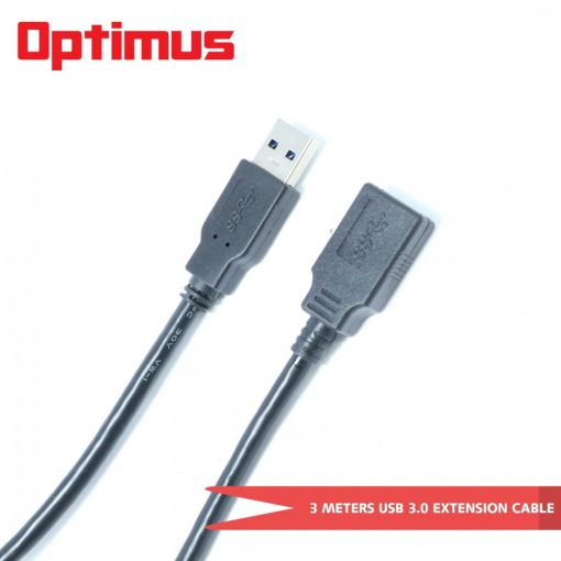Optimus 3 Meters USB3.0  Extension Cable