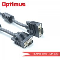 Optimus 1.8 Meters 8mm 3+6 VGA Cable