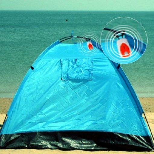 Portable Outdoor Motion Detect Alarm - Orange
