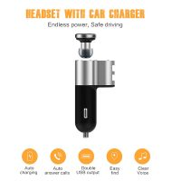 OVEVO Integrated Sport and Music Bluetooth Headset with Car Charger - Black