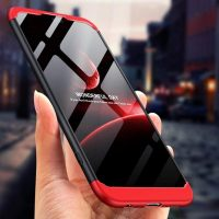 GKK Huawei P20 360 Full Protection Case - Red