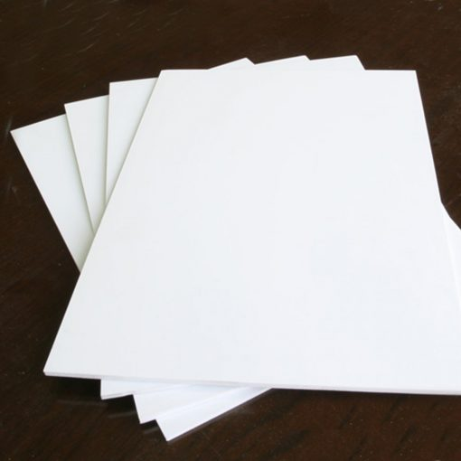 5 Pieces White PVC Illustration Board 10 x 15 inch 2 mm Thickness - White