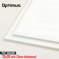 2 Pieces White PVC Illustration Board 20 x 30 inch 3 mm Thickness - White