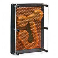 Pinart Sculpture Acrylic Board for Kids - Orange