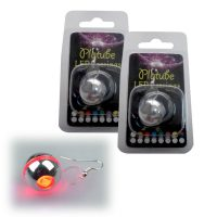 Platube LED Earrings - Red