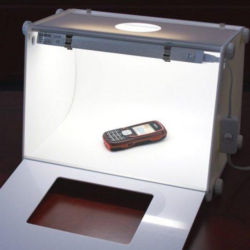 Portable Light Box Photo Studio Set With Lighting 40 x 30 cm