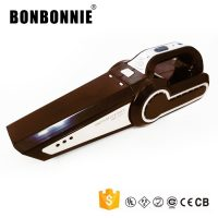 4 in 1 Portable Car Vacuum Cleaner - Brown